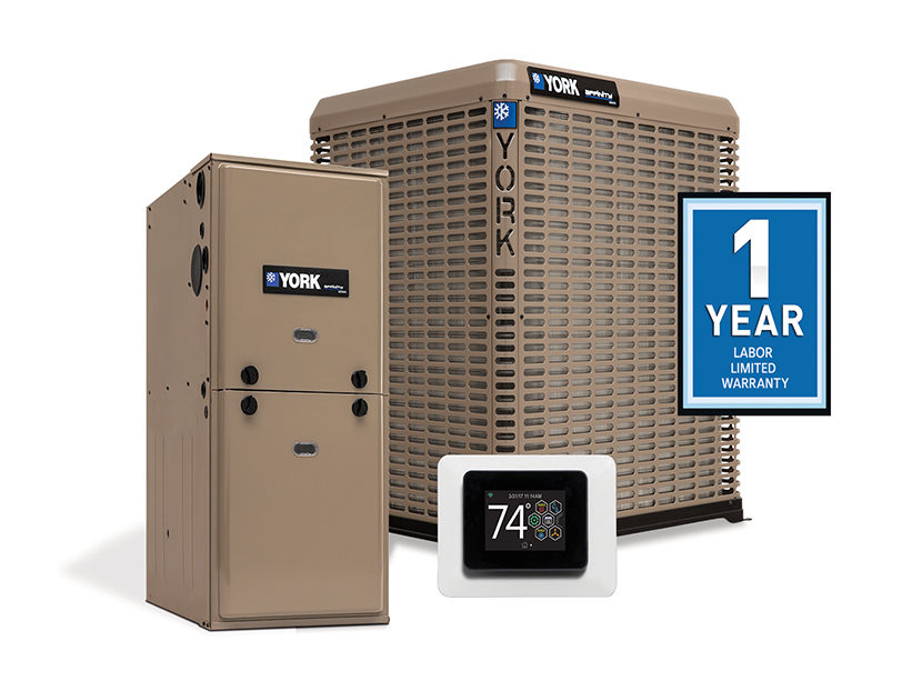 YORK Applies One-Year Labor Limited Warranty to all its Residential Equipment