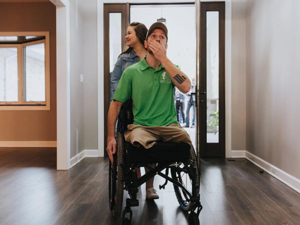 Jared Allen's Homes for Wounded Warriors, CRCC Create Accessible Home for Marine Veteran