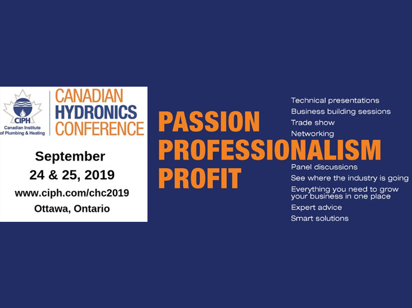 Registration Open for Canadian Hydronics Conference
