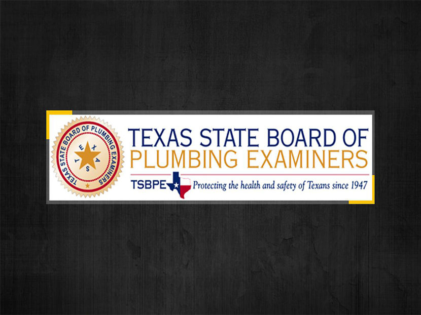 Texas Legislature Votes Down State Plumbing Agency