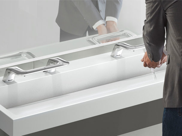 Bradley corp shares five restroom upgrades to improve hand washing and minimize germs