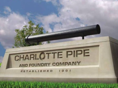 Charlotte pipe and foundry to build new state of the art plant