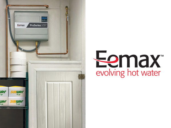 Eemax Brings Handwashing Solutions to Quick Service Restaurants