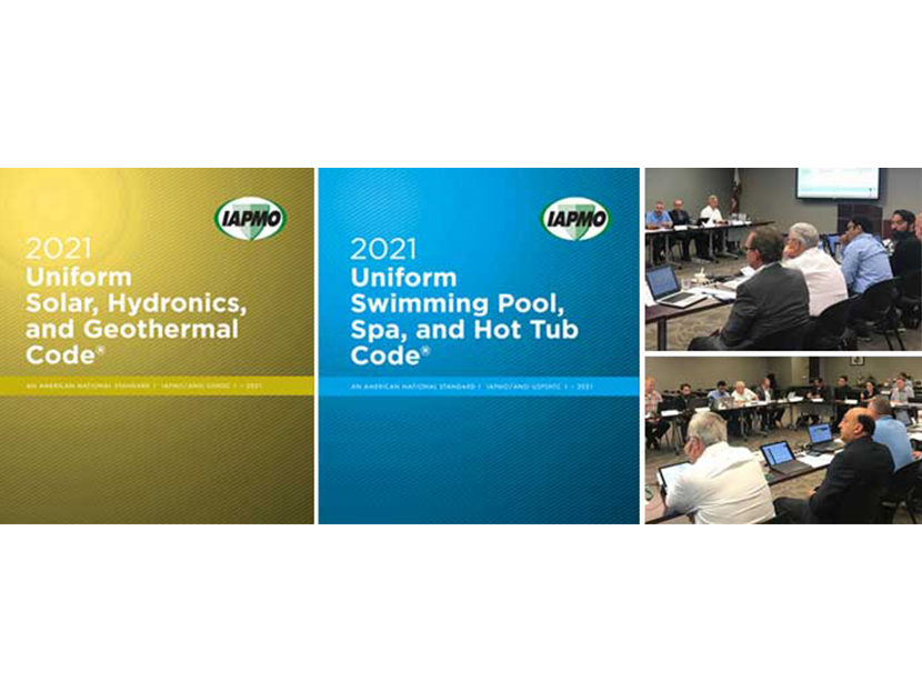 IAPMO Holds Technical Committee Meetings for Development of 2021 USHGC and USPSHTC