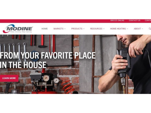 Modine Launches New Website