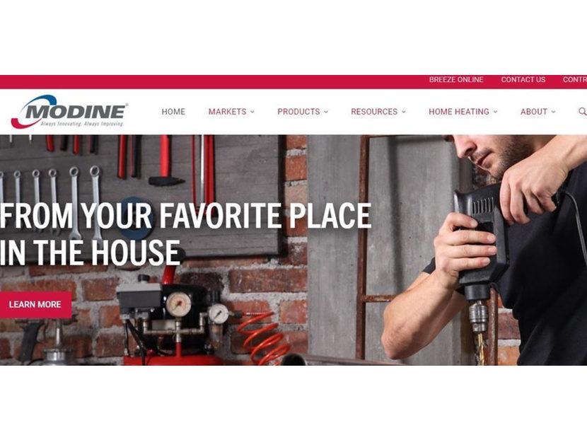 Modine Launches New Website