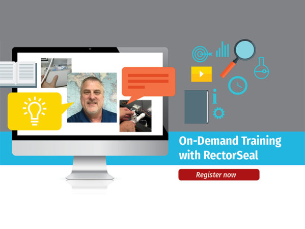 "RectorSeal Launches ""On-Demand Training with RectorSeal,"" Free Online Classes with Experts"