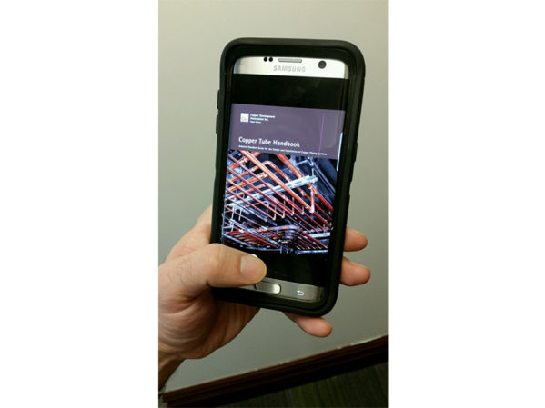CDA Updates the Copper Tube Handbook App