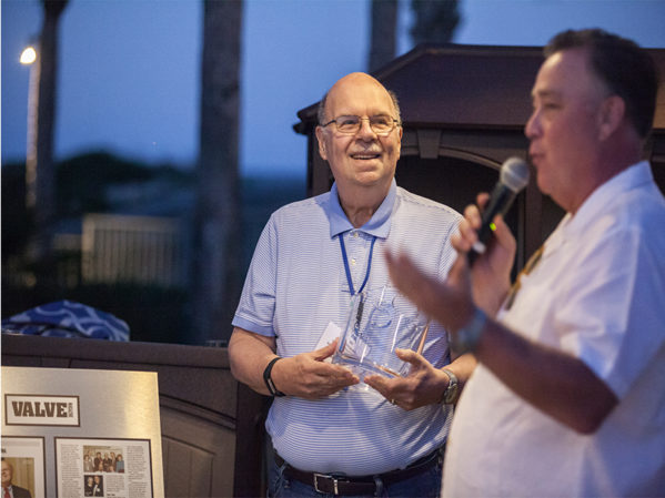 VMA President William Sandler Honored for 40 Years of Service