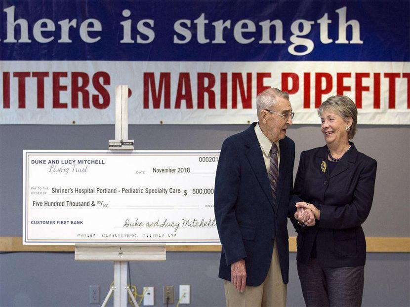Retired Welder Donates $500,000 to Children's Hospital