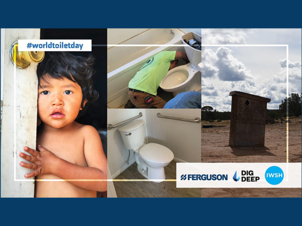 Ferguson Partners with IWSH to Celebrate World Toilet Day