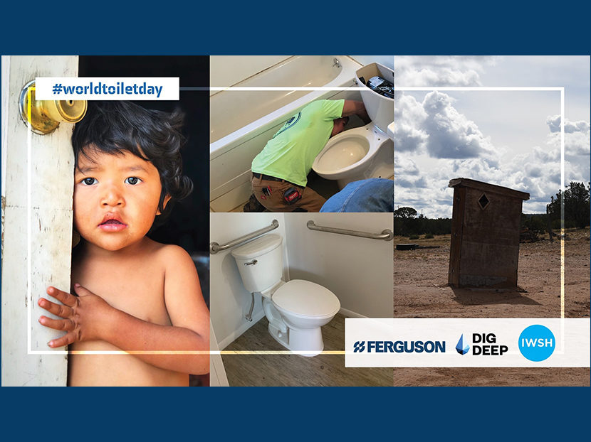 Ferguson Partners with IWSH to Celebrate World Toilet Day