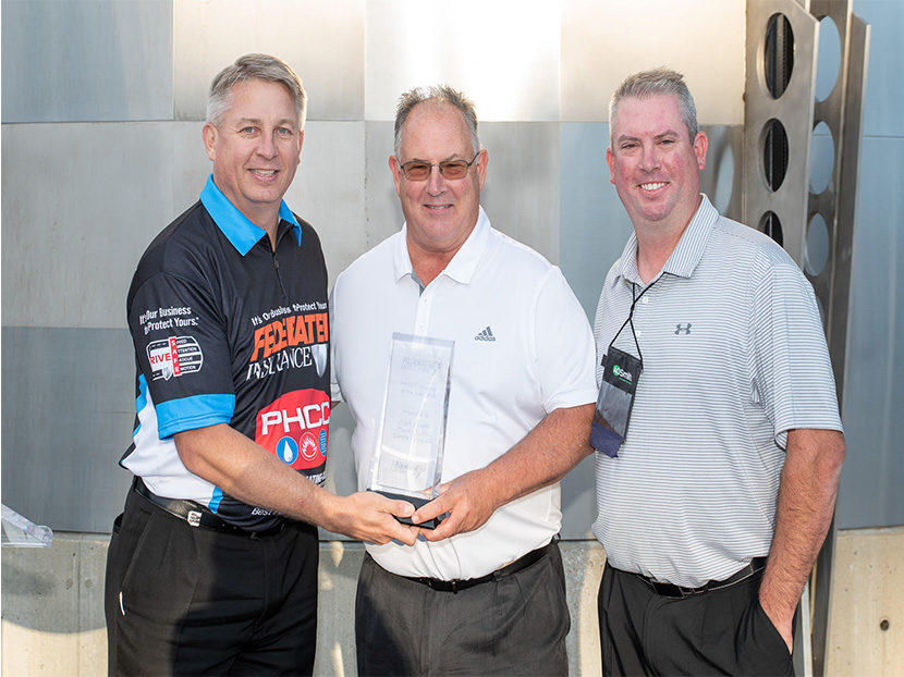 Frank Bonetti Plumbing Earns 2019 PHCC Safety Award