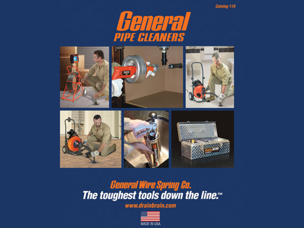 General Pipe Cleaners Releases New Catalog