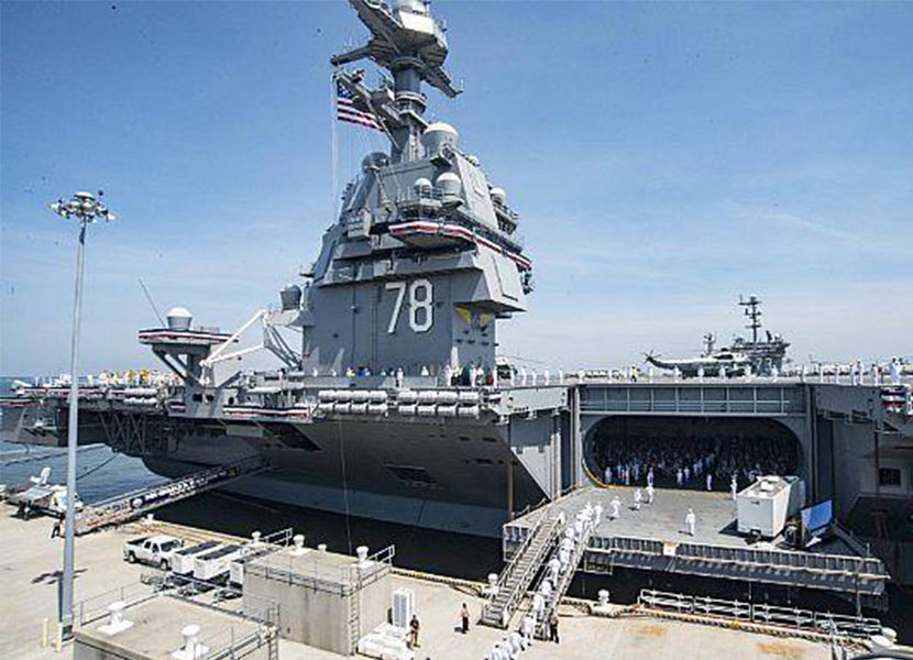 Milwaukee Valve Celebrates National U.S. Navy Aircraft Carrier Month