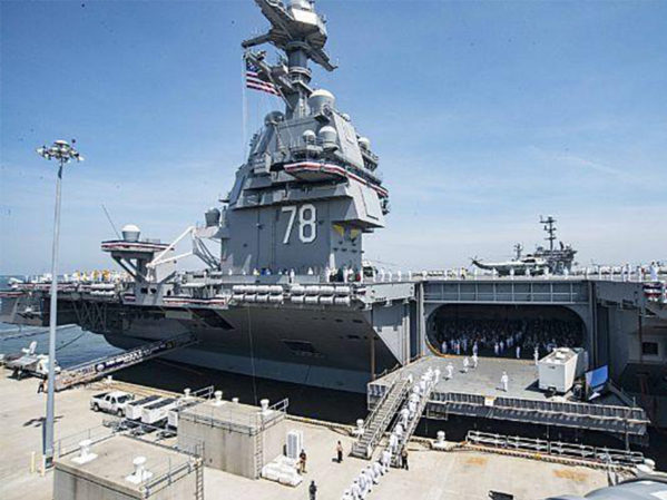 Milwaukee Valve Celebrates National U.S. Navy Aircraft Carrier Month