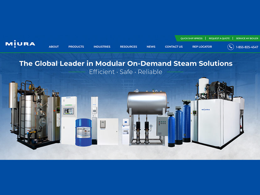 Miura Launches New Intuitive Website