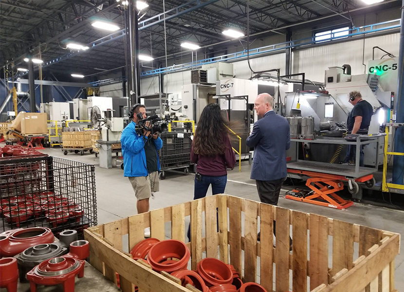 NBC Affiliate Features Liberty Pumps in Small Business Spotlight 3