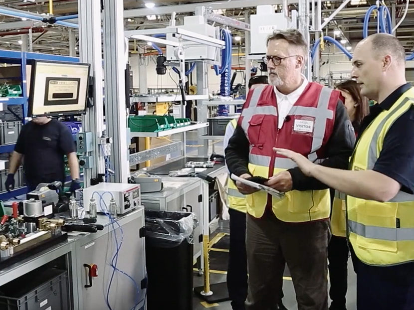 PHCPPros Tours Ideal Boilers and Triangle Tube Factory in Hull, England