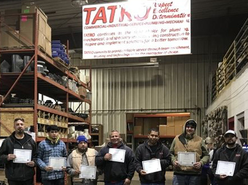 TATRO Celebrates National Apprenticeship Week 2