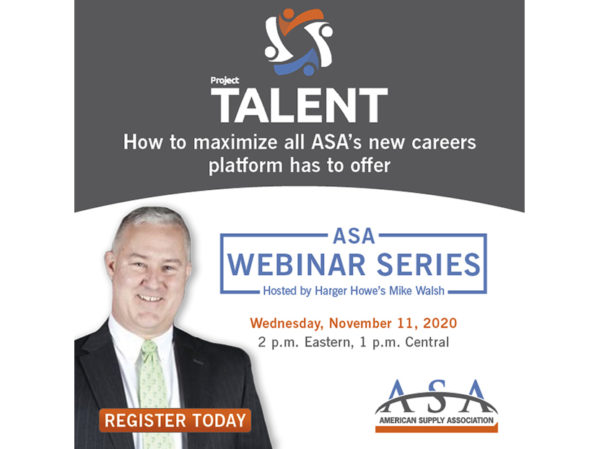 ASA to Host PROJECT TALENT Webinar