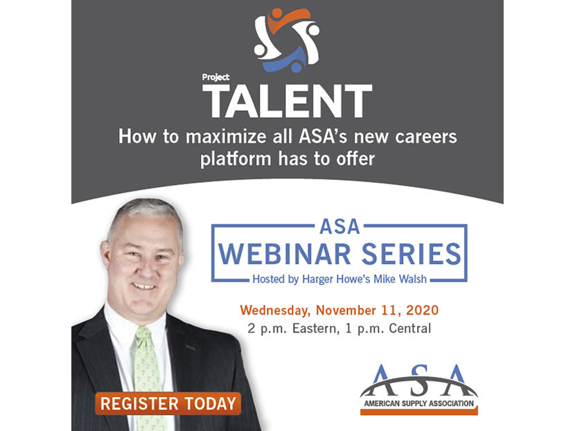 ASA to Host PROJECT TALENT Webinar