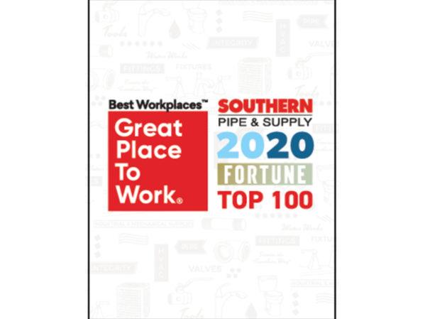 Fortune Magazine Names Southern Pipe & Supply Top 100 Workplace 2