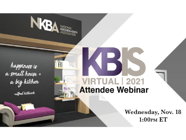 KBIS Shares the Latest on KBIS Virtual in Free Webinar 2