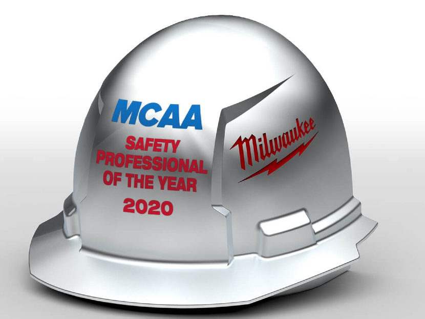 MCAA Seeks Nominations for MCAA/MILWAUKEE TOOL Safety Professional of the Year Award