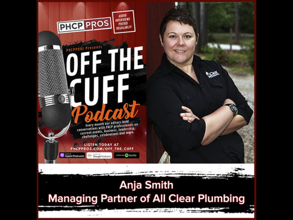 PHCPPros Off the Cuff: Anja Smith, Managing Partner of All Clear Plumbing