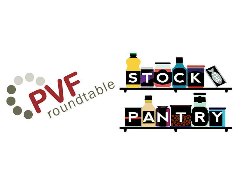 PVF Roundtable Collecting Donations for Stock the Pantry Campaign