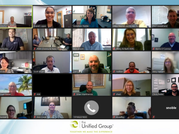 Virtual Financial Forum Brings Unified Group Members Together 2