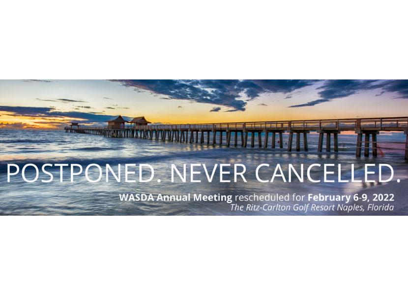 WASDA Postpones 2021 Annual Meeting