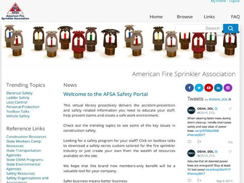 AFSA Launches Online Safety Portal