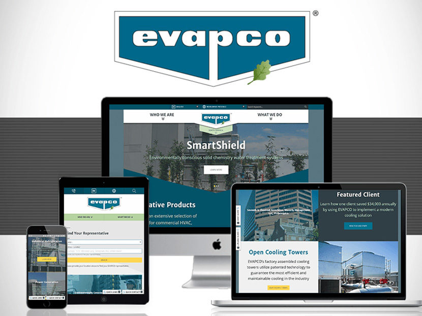 EVAPCO-Redesigns-Website