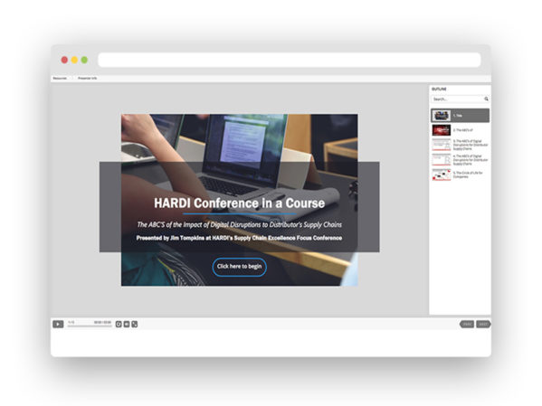 HARDI Introduces New Conference in a Course Series