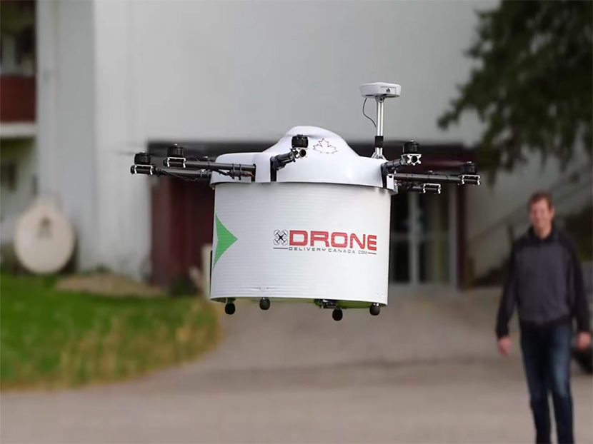 Wolseley Canada May Use Drones to Deliver Plumbing and HVAC Parts