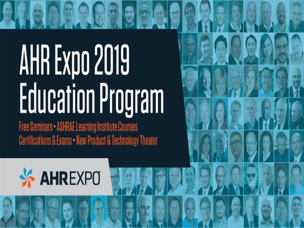 AHR Expo Announces Education Program