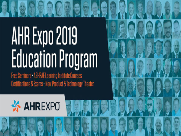 AHR Expo Announces Education Program