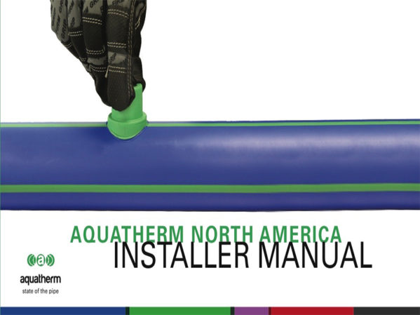Aquatherm Publishes Updated Installer Manual