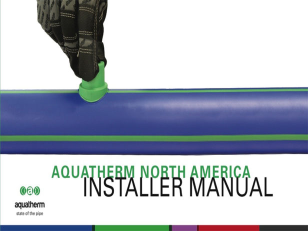Aquatherm-publishes-updated-installer-manual