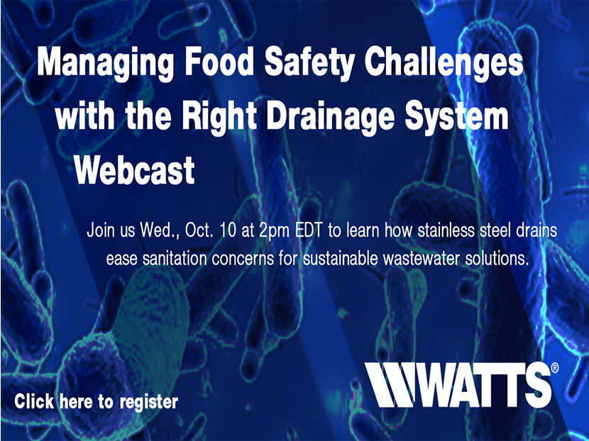 BLUCHER to Host Food Safety Webcast