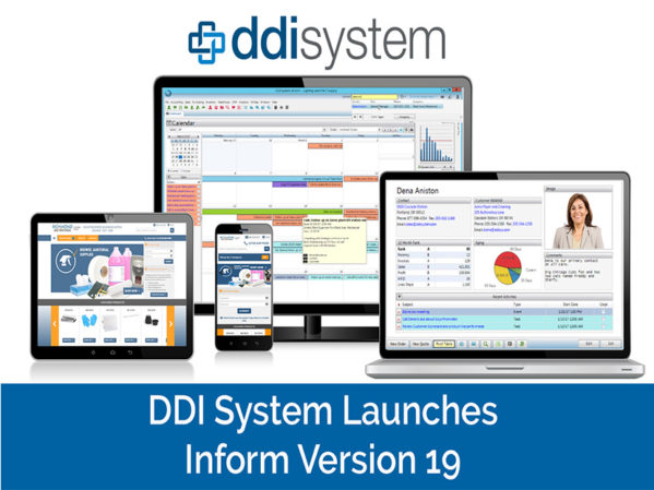DDI System Releases Inform ERP Version 19