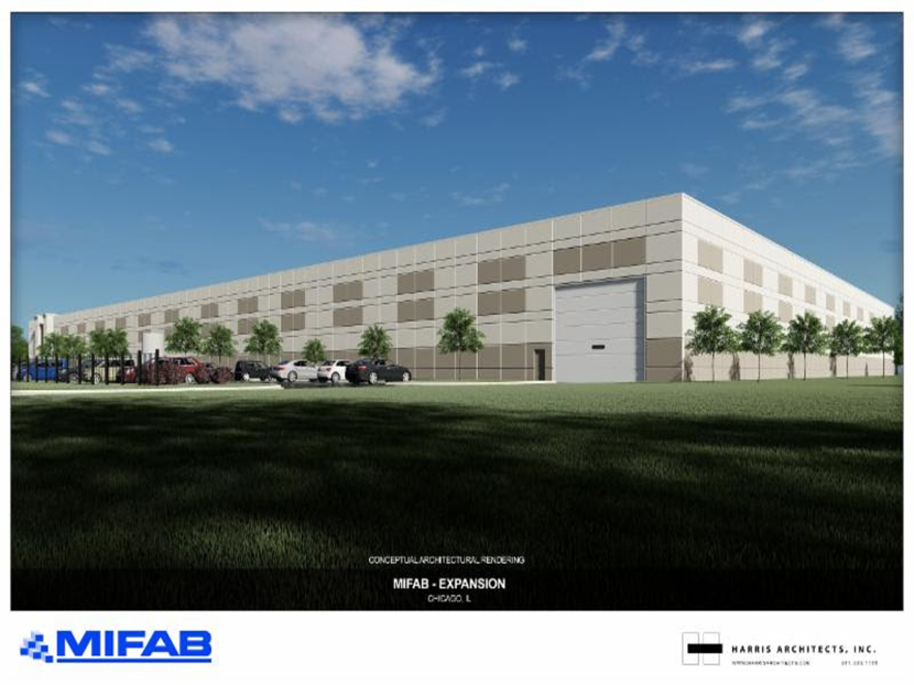 MIFAB Announces Building Expansion