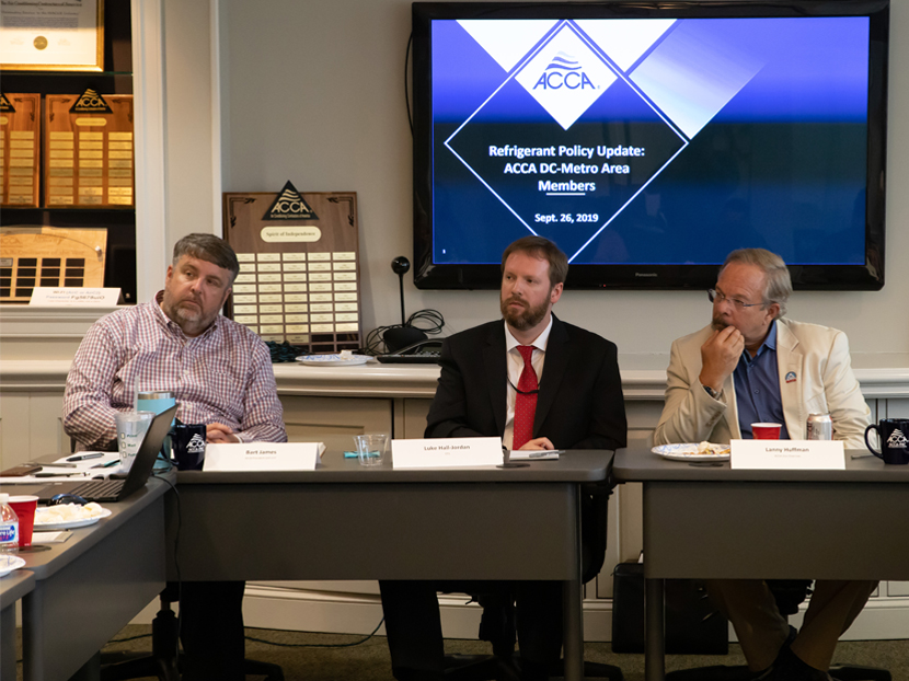 ACCA Hosts Roundtable Discussion on Refrigerant Reclamation with EPA Officials