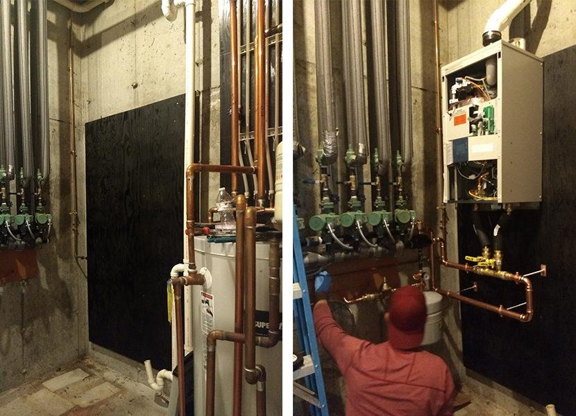 """Ask the Builder"" Host Tim Carter Upgrades to a Modulating Combi Boiler"