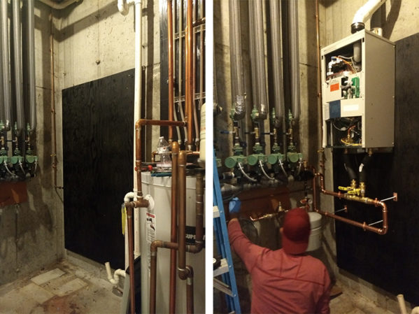 """Ask the Builder"" Host Tim Carter Upgrades to a Modulating Combi Boiler"