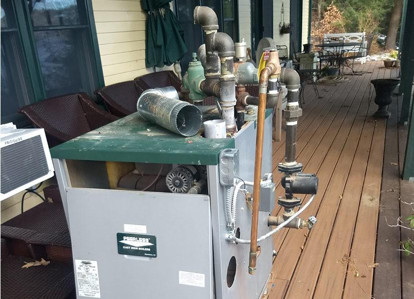 """Ask the Builder"" Host Tim Carter Upgrades to a Modulating Combi Boiler 2"