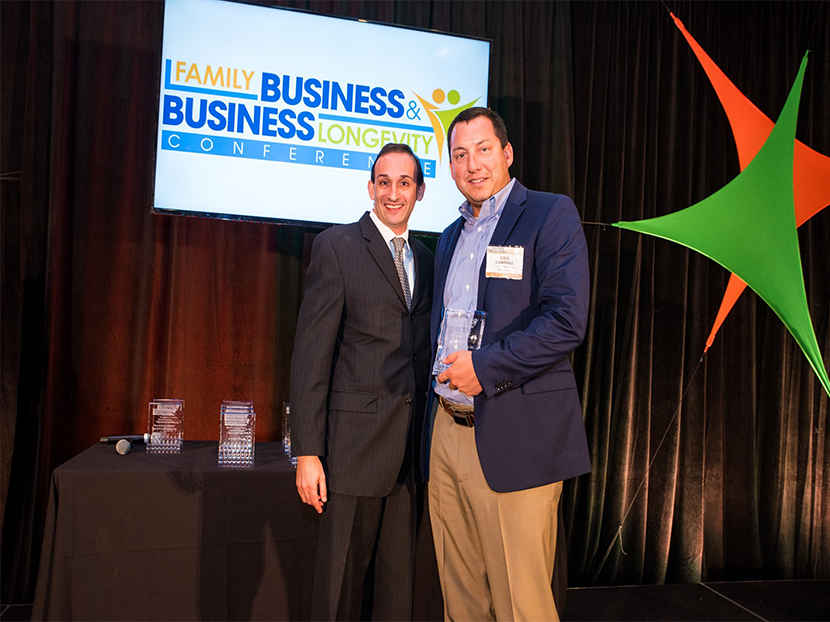 Campbell Mechanical Wins Family Business Award