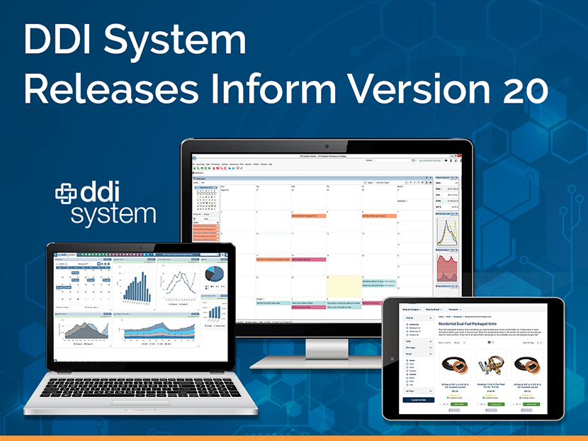 DDI System Releases Inform ERP Version 20